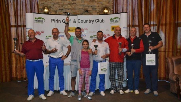 Отново два турнира белязаха уикенда в Пирин голф и кънтри клуб