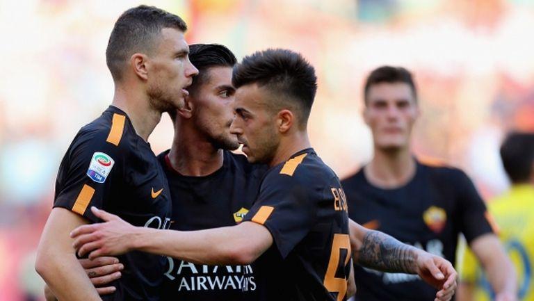 """Рома се съвзе от загубата на """"Анфийлд"""" с бой над Киево"""