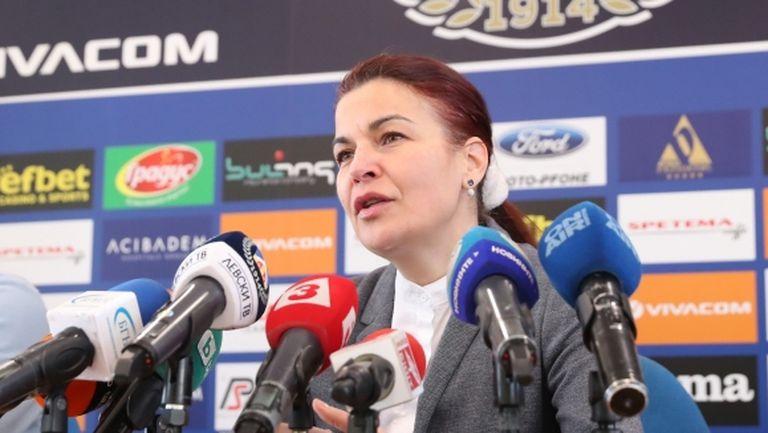 Диана Иванова пред медиите в Израел: Грант става треньор в четвъртък