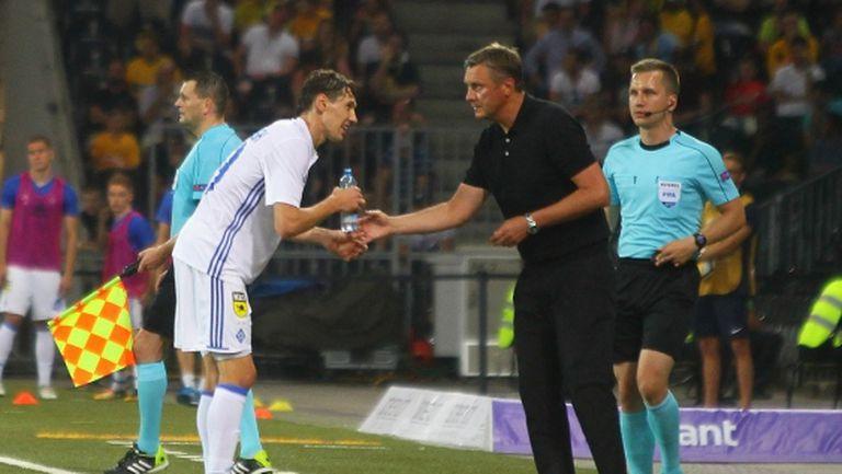 Грандът Динамо (Киев) загуби аванс от два гола и отпадна (видео)