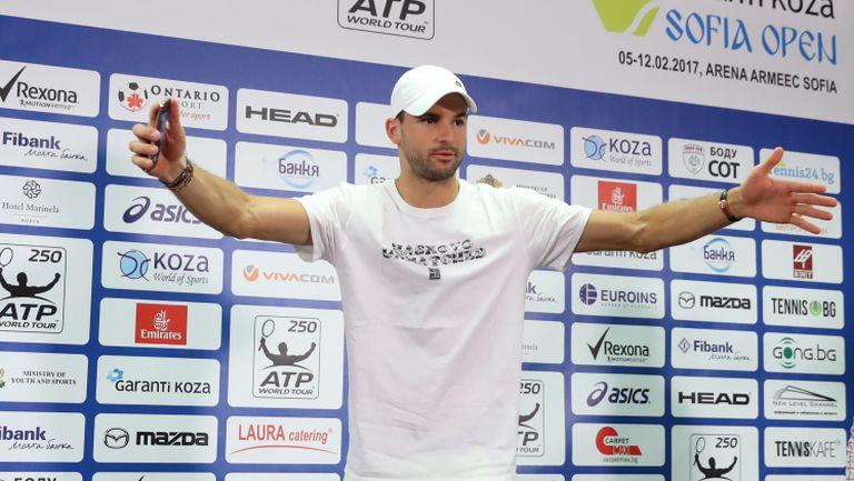 Григор разкри, че е получил съобщение от Федерер и какво му е казал Надал на мрежата