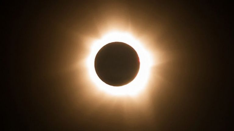 Слънчево затъмнение по време на тенис турнир в САЩ