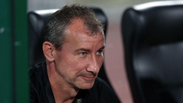 Стамен Белчев: Стъпили сме здраво на земята, за Купата излизам с титулярите