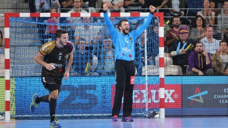 Още едно вълнуващо равенство в Шампионската лига по хандбал (видео)