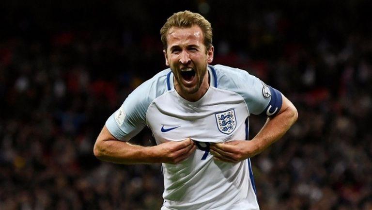 Англия вече е на Мондиал 2018, капитанът Кейн отново обра овациите (видео)