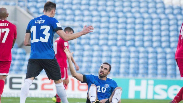 Естония записа рекордна победа, но без значение (видео)