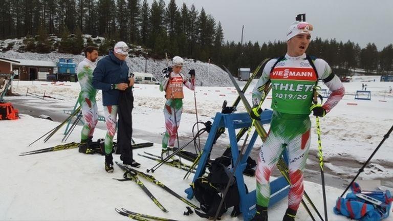 Отборите на България и Русия по биатлон със съвместен лагер на Белмекен
