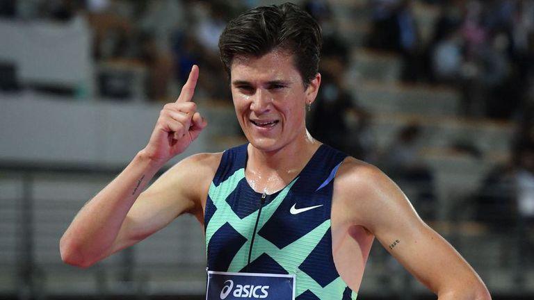 Якоб Ингебригцен подобри европейския рекорд на 5000 метра