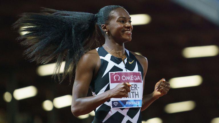 Ашър-Смит подобри рекорд на Марион Джоунс на 200 метра