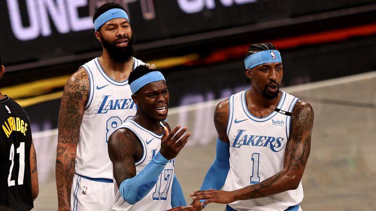 Ролевите играчи на Лейкърс натупаха здраво звездите на Бруклин без ЛеБрон и Дейвис