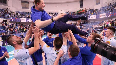 Супер Цецо Соколов с 27 точки изведе Динамо до шампионската титла в Русия (видео + галерия)