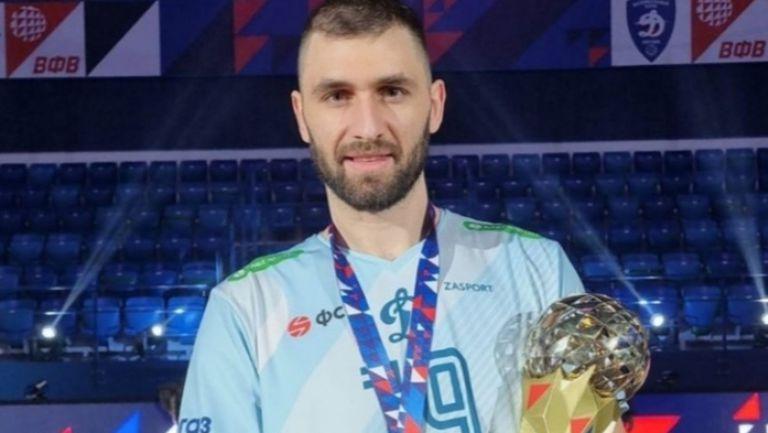 Цветан Соколов заби 27 точки и изведе Динамо (Москва) до шампионската титла в Русия