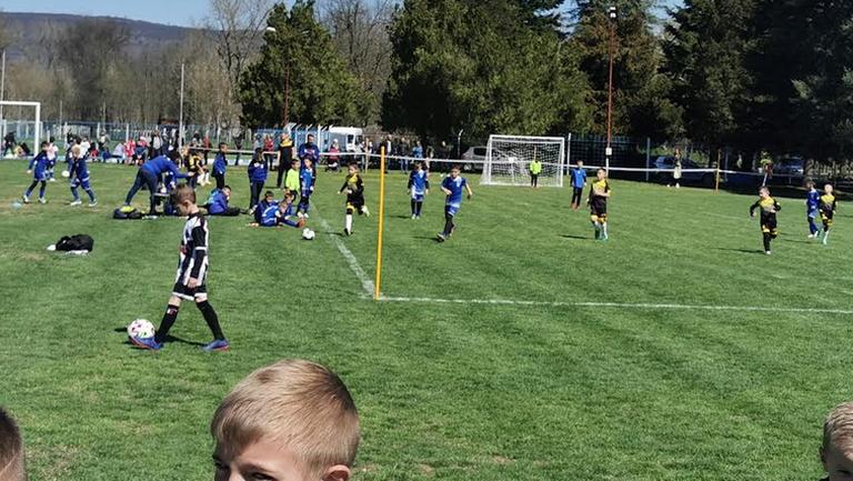Детски футболен празник в Севлиево