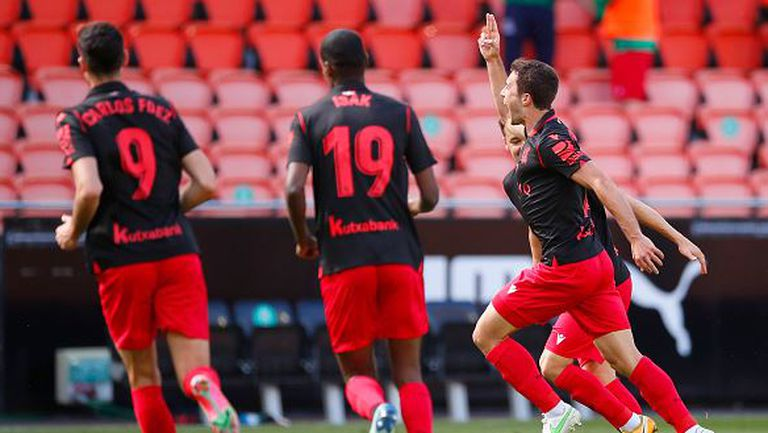 Валенсия -  Реал Сосиедад 2:2