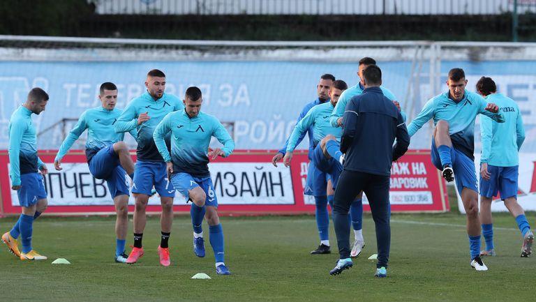 Левски стартира подготовка за мача с Лудогорец