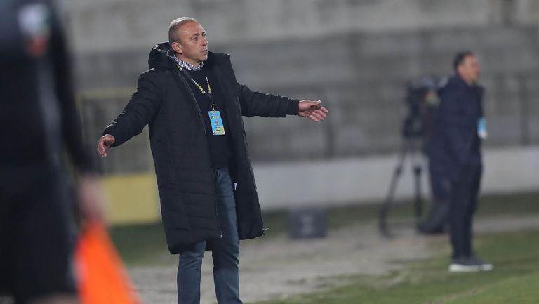 Илиан Илиев: Резултатът е справедлив, далеч сме от нашата добра игра