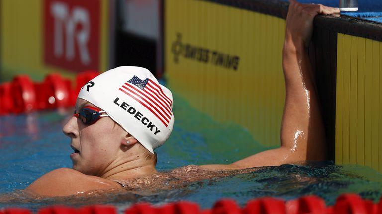 Кейти Ледецки с най-добро време за годината на 1500 метра свободен стил