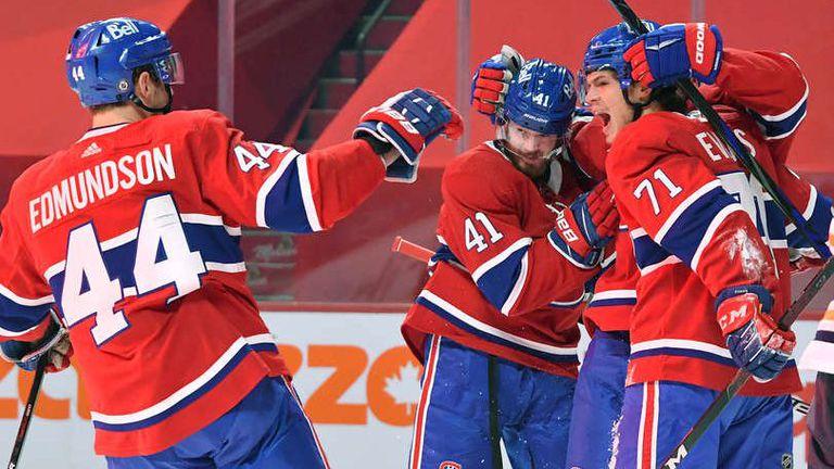Монреал си осигурипоследното свободно мястов плейофите на НХЛ