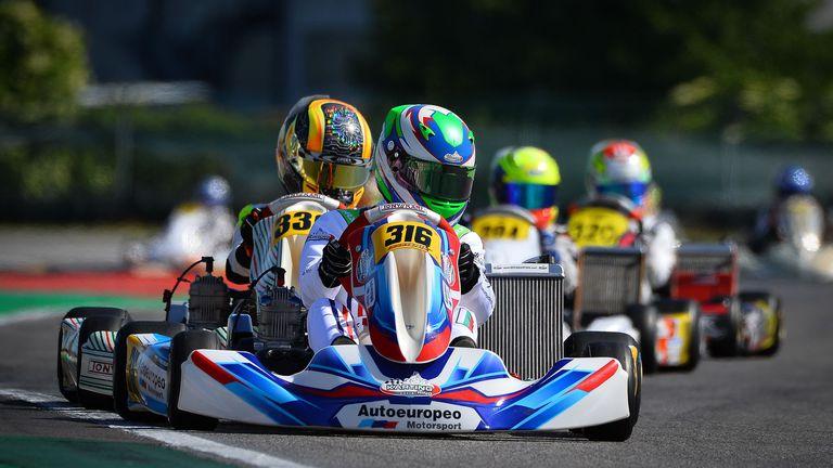Калоян Върбицалиев с нов подиум в италианския шампионат по картинг