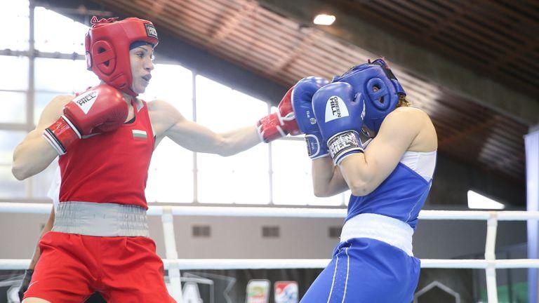 Станимира Петрова прави спаринги с олимпийски шампион