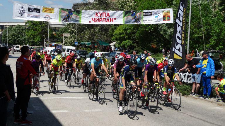 """Омега Тийм с отлични резултати в колоездачната надпревара за купа """"Чирпан"""""""
