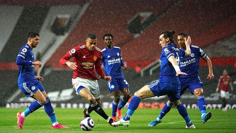 Манчестър Юнайтед загуби с 1:2 от Лестър и направи Ман Сити шампион