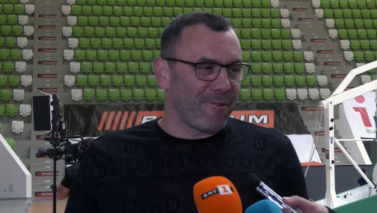 Тодор Стойков: Свикнал съм на финали, наслушахме се за съдиите