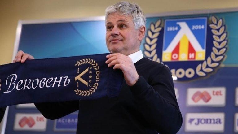 Стойчо Стоев: Левски ще има визия през пролетта, 11 точки за наваксване са много