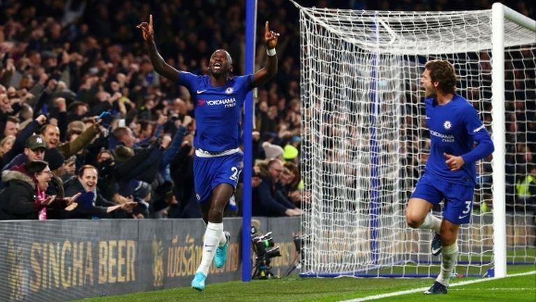 Изненадващ герой донесе очаквана победа на Челси (видео)