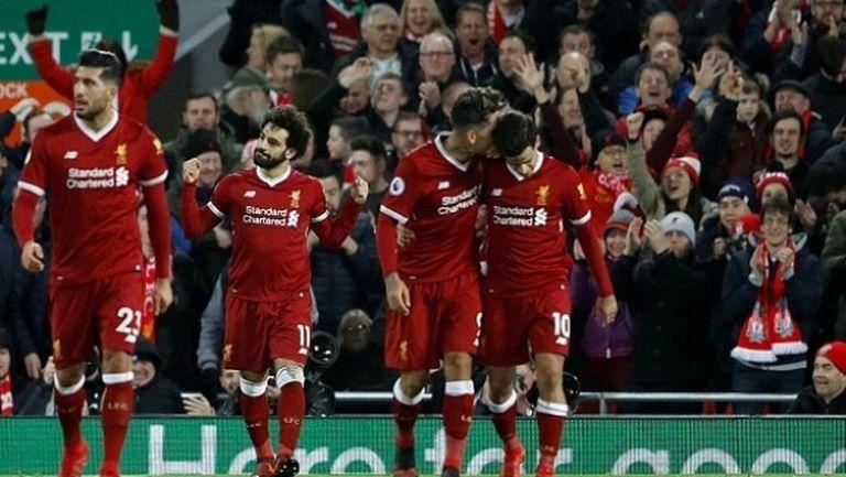 Салах реши ребуса Лестър пред погледа на рекордната покупка на Ливърпул (видео)