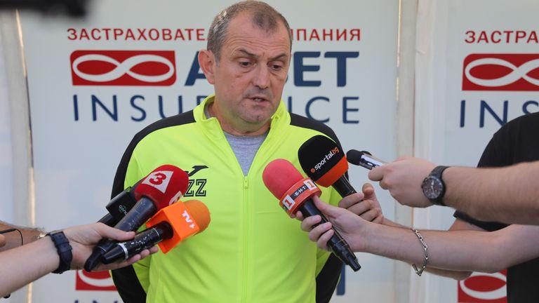 Славия официално обяви името на новия треньор
