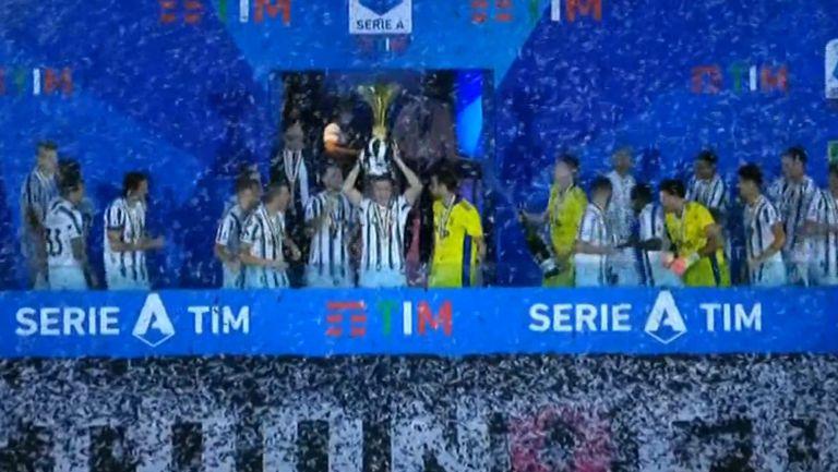 Ювентус официално подпечата 9-ата си поредна и общо 36-а титла на Италия