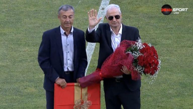 ЦСКА-София почете 79-ата годишнина на Димитър Якимов
