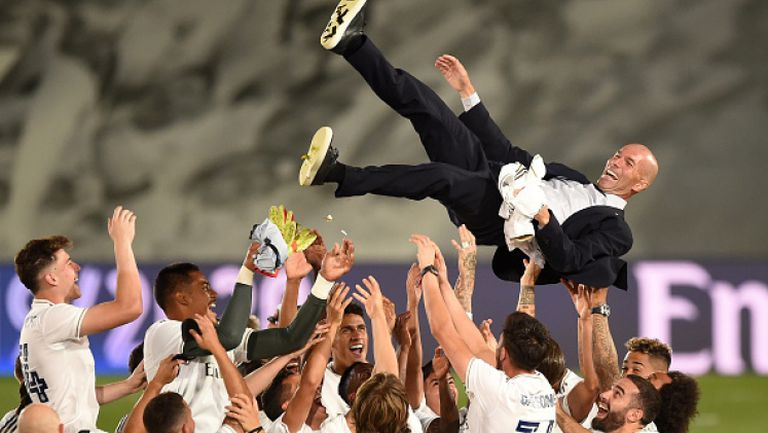 Зидан: Това беше най-уникалното първенство, не сме преживявали нещо подобно
