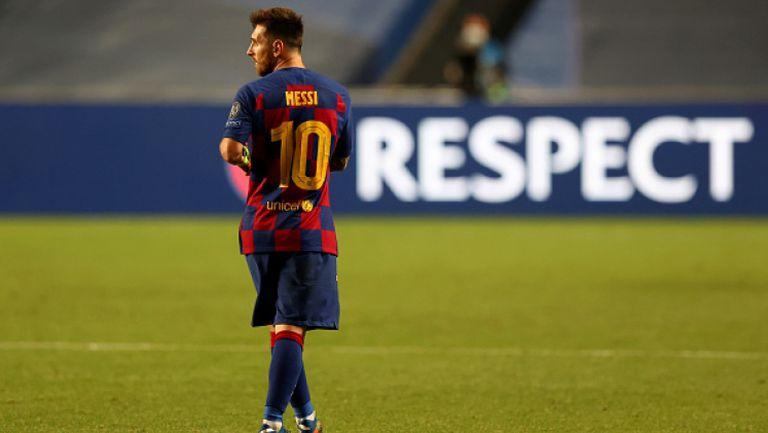 Меси сътвори новина №1, след като поиска да напусне Барселона