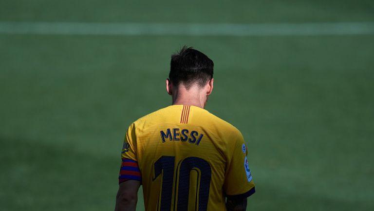 Меси изпълни заканата си и не се яви на първия сбор на играчите на Барселона