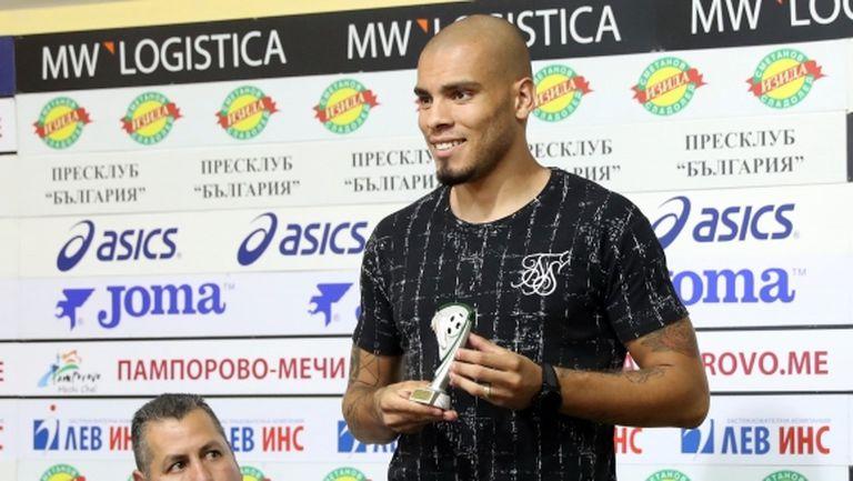 Бразилски нападател може отново да облече екипа на ЦСКА-София