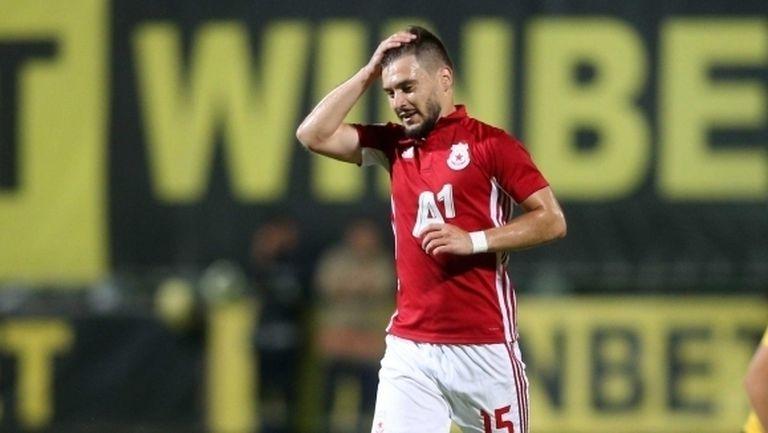 Стана ясно защо Малинов не игра днес за ЦСКА-София