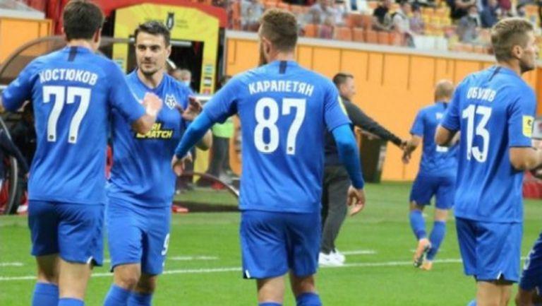 Червен картон и пропусната дузпа не спряха Тамбов за първа победа (видео)