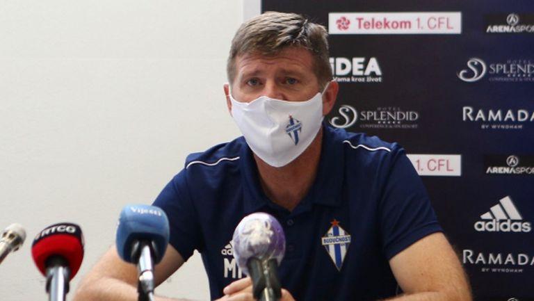 Треньорът на Будучност: Представихме достойно клуба, града и черногорския футбол