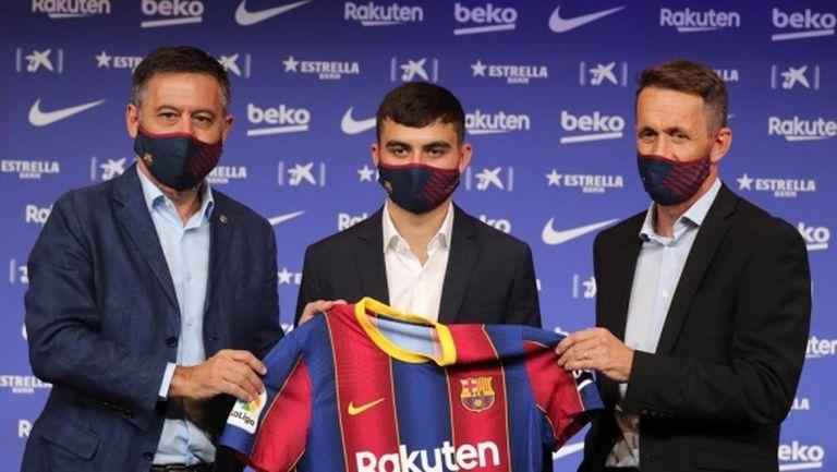 Ново попълнение на Барселона: Желая да се уча от най-добрия и искам той да остане