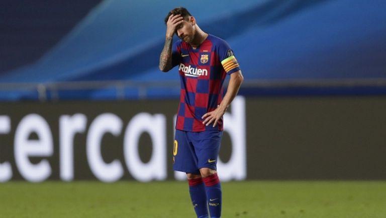 Част от директорите на Барселона готови да се разделят с Меси