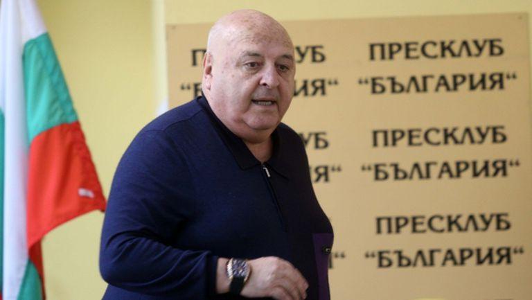 Венци Стефанов: Имам пълно доверие на Загорчич, дал съм му цялата спортно-техническа власт