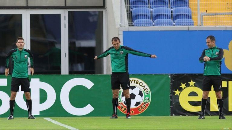 Петър Костадинов ще ръководи ЦСКА-София - Славия, Драганов ще свири на Монтана - Левски
