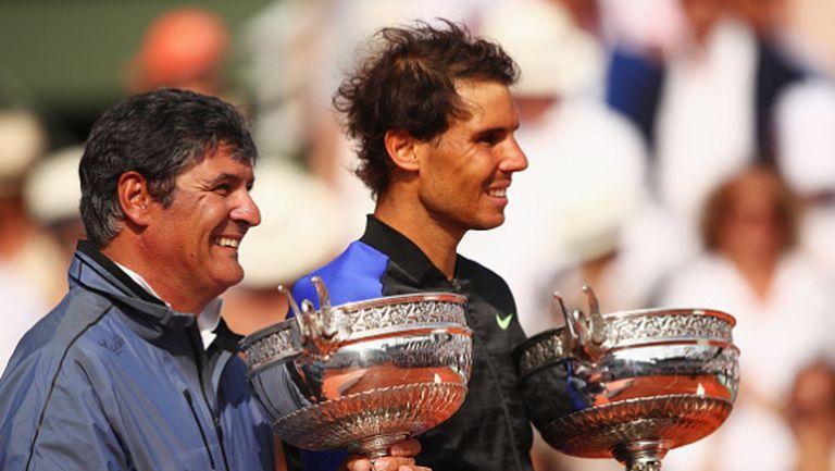 Рафа Надал: Без Тони нямаше да стана тенисист