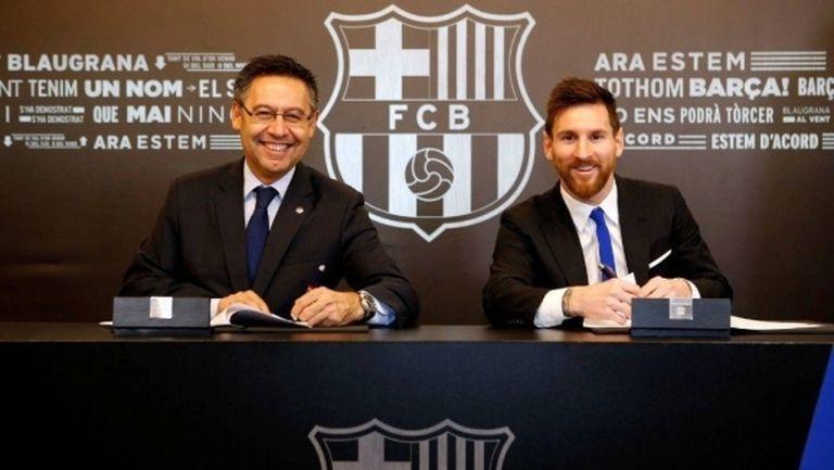 В Англия посочиха цената, за която Барселона ще пусне Меси в Ман Сити