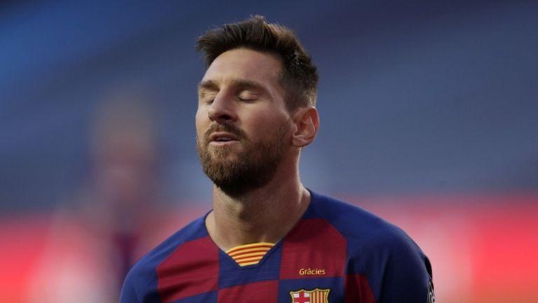 Барселона няма да налага допълнителна санкция на Меси