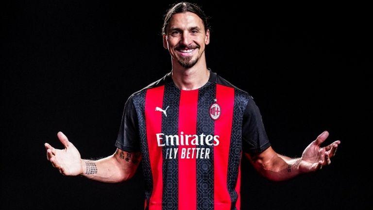 Официално: Ибра остава в Милан за още един сезон