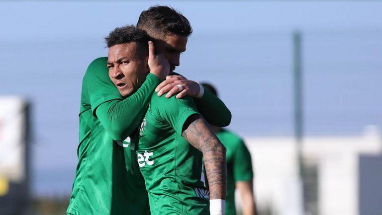 Абел Анисе даде преднина от два гола на Лудогорец срещу Царско село