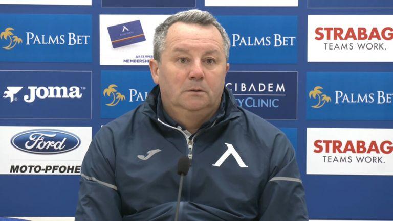 Славиша Стоянович: Бяхме дисциплинирани и отговорни, ще запаля свещ за оставането на Робърта